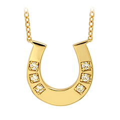 HOF Horseshoe Necklace