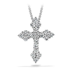 Divine Byzantine Cross Pendant Necklace