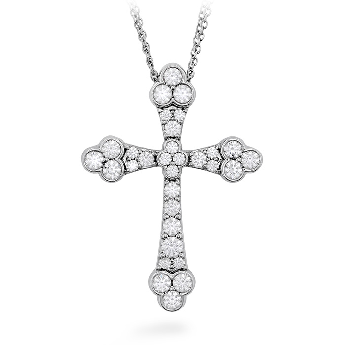 Effervescence Graceful Cross Necklace